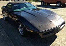 1989 Chevrolet Corvette Convertible for sale 100815163