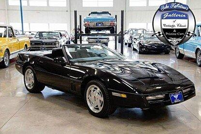 1989 Chevrolet Corvette Convertible for sale 100848787
