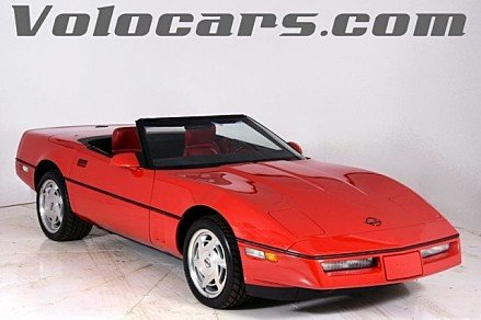 1989 Chevrolet Corvette Convertible for sale 100927515