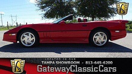 1989 Chevrolet Corvette Convertible for sale 100932189