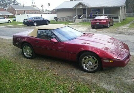 1989 Chevrolet Corvette Convertible for sale 100971076