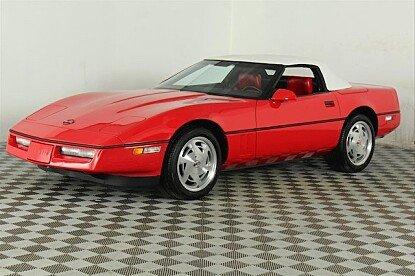 1989 Chevrolet Corvette Convertible for sale 100989307