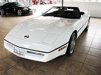 1989 Chevrolet Corvette Convertible for sale 100869786