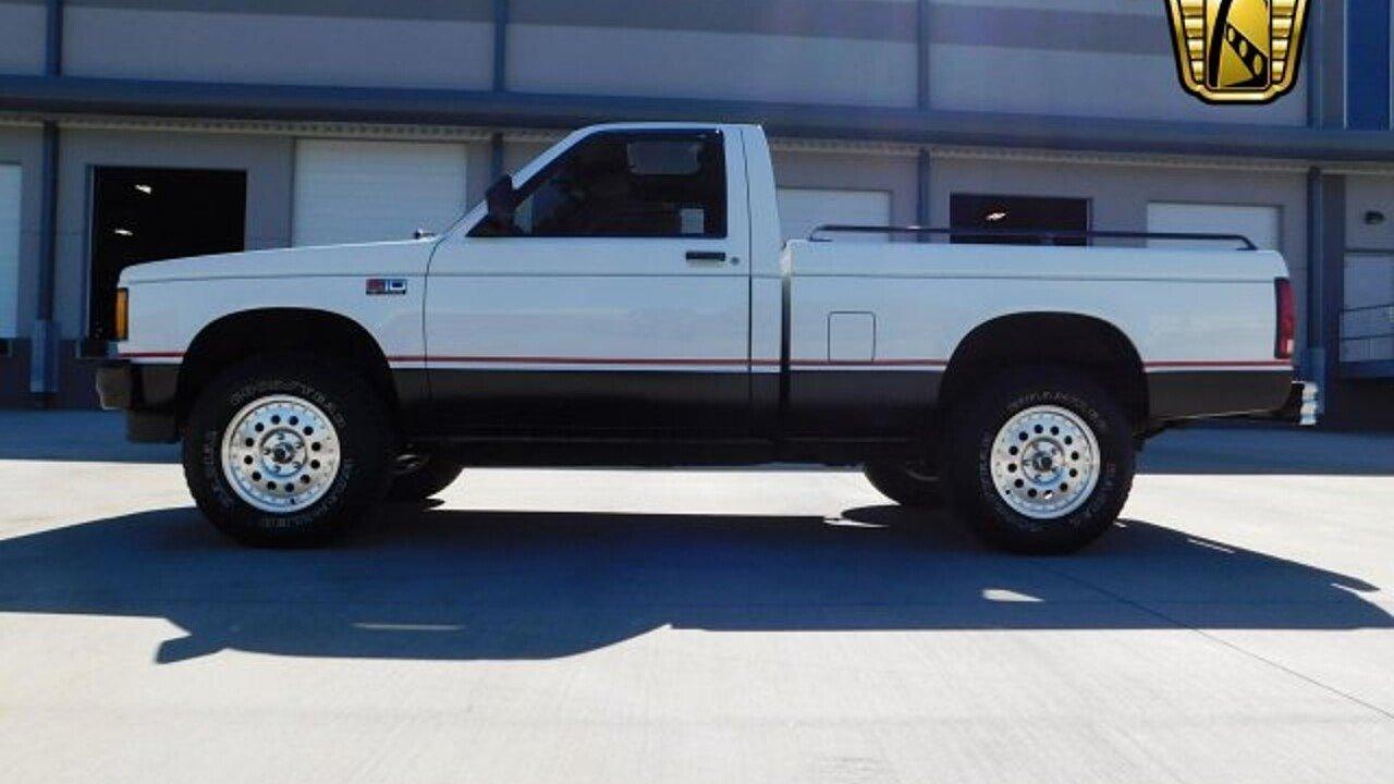 1989 chevrolet s10 pickup 4x4 regular cab for sale 100863995