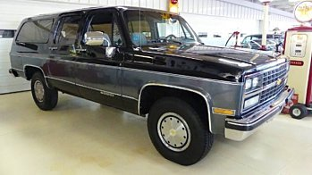 1989 Chevrolet Suburban 2WD 2500 for sale 100940546