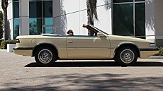 1989 Chrysler TC by Maserati for sale 100875742