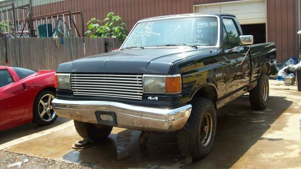 1989 Ford F150 4x4 Regular Cab for sale 100292708