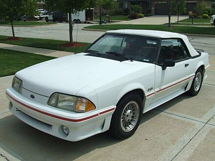 1989 Ford Mustang GT Convertible for sale 100904299
