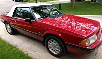 1989 Ford Mustang LX V8 Convertible for sale 100986962