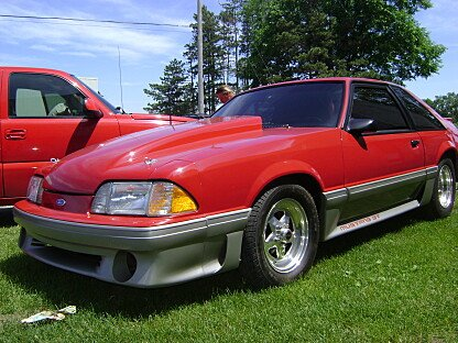 1989 Ford Mustang GT Hatchback for sale 100995087