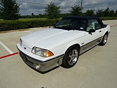 1989 Ford Mustang GT Convertible for sale 101000701