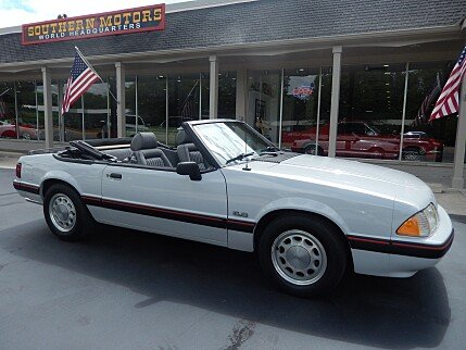 1989 Ford Mustang LX Convertible for sale 101019012