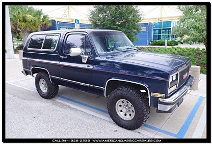 1989 GMC Jimmy for sale 100789250