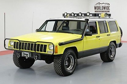 1989 Jeep Cherokee 4WD Limited 4-Door for sale 100985069