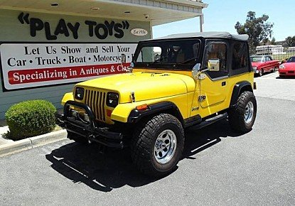1989 Jeep Wrangler 4WD for sale 100986739