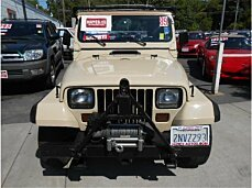 1989 Jeep Wrangler 4WD for sale 100989649