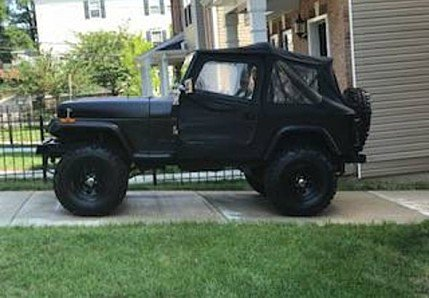 1989 Jeep Wrangler for sale 101000586