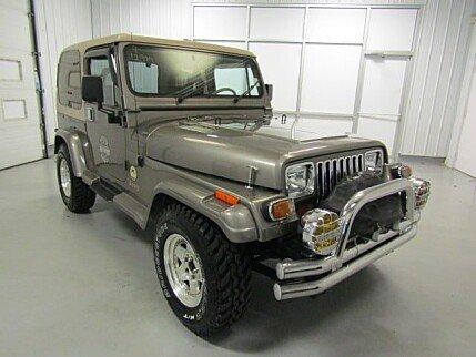 1989 Jeep Wrangler 4WD Sahara for sale 101013020