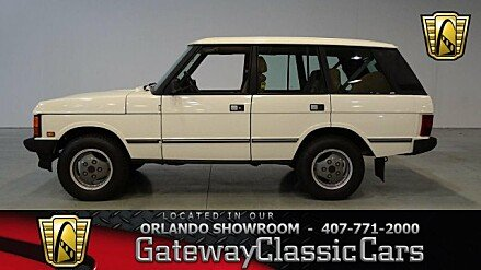 1989 Land Rover Range Rover for sale 100889999