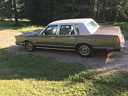1989 Lincoln Town Car for sale 100919349