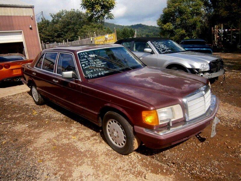 1989 mercedes benz 420sel for sale near bedford virginia 24174 rh classics autotrader com 1986 mercedes benz 420sel repair manual Mercedes-Benz 560SL