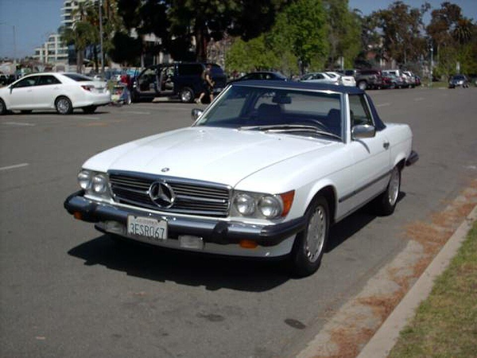 1989 mercedes benz 560sl for sale near san diego for Auto trader mercedes benz