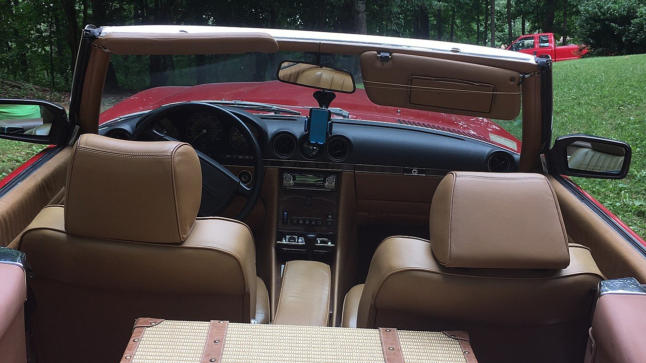 1989 Mercedes-Benz 560SL for sale 101006096