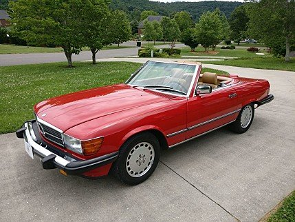1989 Mercedes-Benz 560SL for sale 100996001