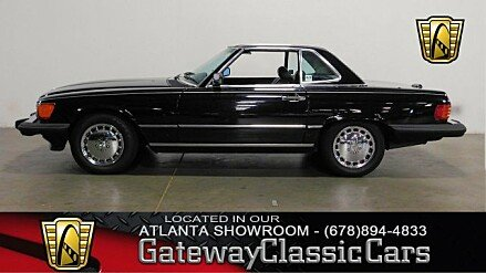 1989 Mercedes-Benz 560SL for sale 101014726