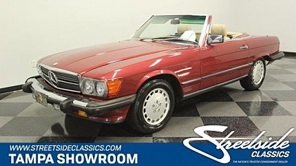 1989 Mercedes-Benz 560SL for sale 101018235