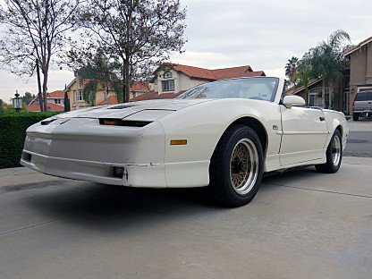 1989 Pontiac Firebird Trans Am Coupe for sale 101001725