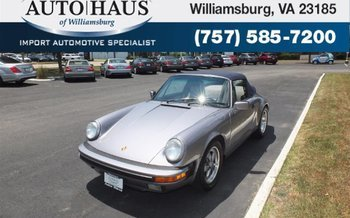 1989 Porsche 911 Carrera Cabriolet for sale 100887648