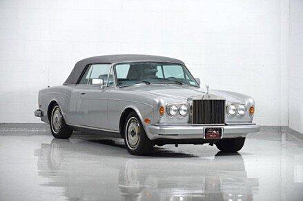 1989 Rolls-Royce Corniche II for sale 100848668