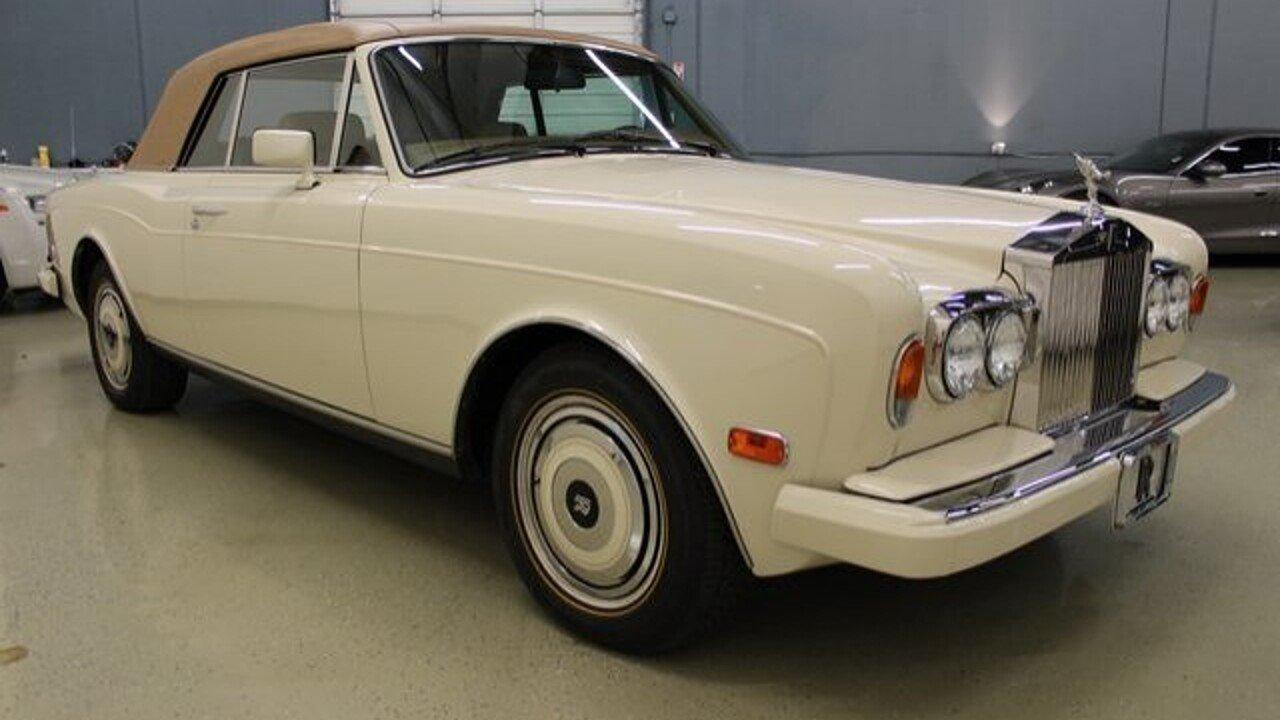 1989 Rolls-Royce Corniche II for sale 101014477