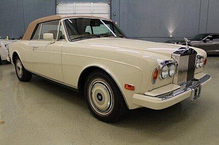 1989 Rolls-Royce Corniche II for sale 100969070