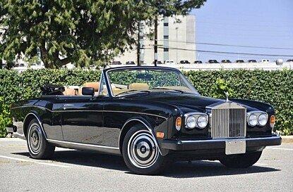 1989 Rolls-Royce Corniche II for sale 100977824