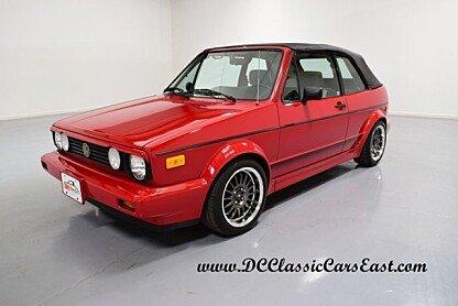 1989 Volkswagen Cabriolet for sale 100838680