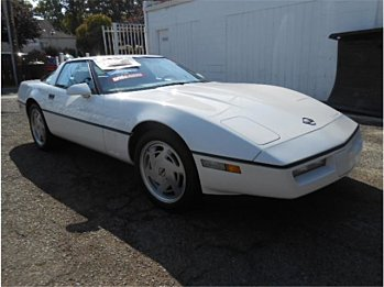 1989 chevrolet Corvette Coupe for sale 101018116