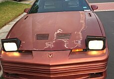 1989 pontiac Firebird for sale 101046087