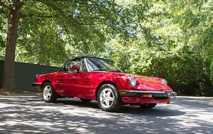 1990 Alfa Romeo Spider Graduate for sale 100724735