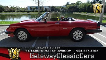 1990 Alfa Romeo Spider Veloce for sale 100843823