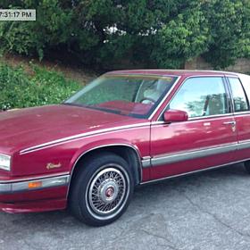 1990 Cadillac Eldorado Coupe for sale 100785220