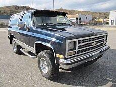 1990 Chevrolet Blazer 4WD 2-Door for sale 100925905