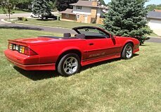 1990 Chevrolet Camaro IROC-Z Convertible for sale 100887377