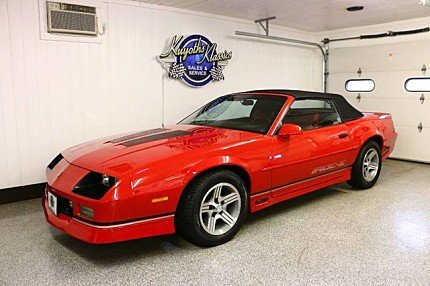 1990 Chevrolet Camaro IROC-Z Convertible for sale 100922637