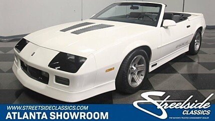 1990 Chevrolet Camaro IROC-Z Convertible for sale 100975814