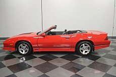 1990 Chevrolet Camaro IROC-Z Convertible for sale 101006324