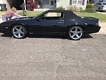 1990 Chevrolet Camaro IROC-Z Convertible for sale 101025425