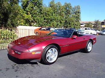 1990 Chevrolet Corvette Convertible for sale 100736784