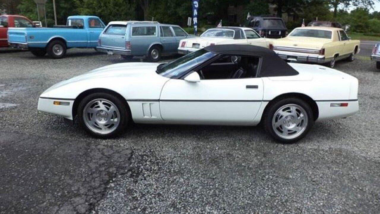 Corvette » 1990 Chevrolet Corvette - Old Chevy Photos Collection ...